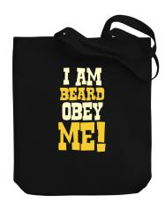 I Am Beard Obey Me! Stofftasche