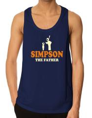 Simpson The Father Tank Top