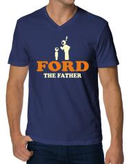 Ford The Father V-Ausschnitt T-Shirt