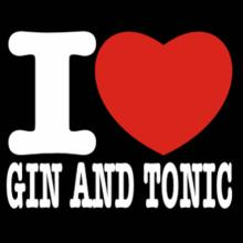 I Love Gin And Tonic T-Shirt