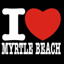 I Love Myrtle Beach T-Shirt