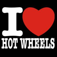 I Love Hot Wheels Langarm T-Shirt