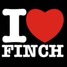 I Love Finch Langarm T-Shirt