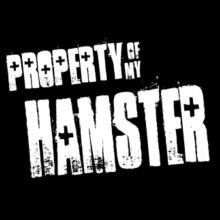 Property Of My Hamster Langarm T-Shirt