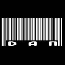 Bar Code Dan T-Shirt