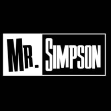 Mr. Simpson Langarm T-Shirt