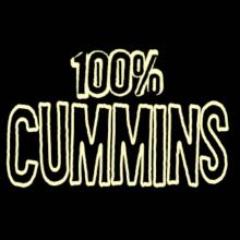 100% Cummins T-Shirt
