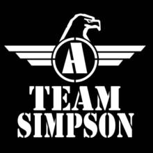Team Simpson - Falcon Initial Langarm T-Shirt