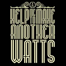 Help Me To Make Another Watts Langarm T-Shirt