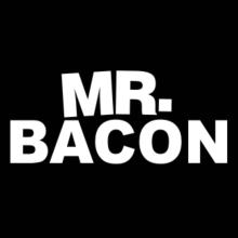 Mr. Bacon Langarm T-Shirt