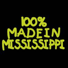 100 % Made In Mississippi Langarm T-Shirt