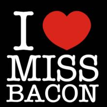 I Love Ms Bacon Langarm T-Shirt
