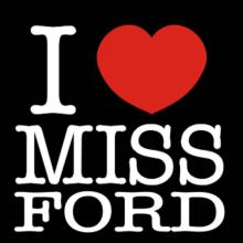 I Love Ms Ford Langarm T-Shirt