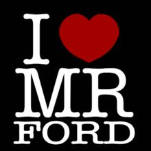 I Love Mr Ford Langarm T-Shirt