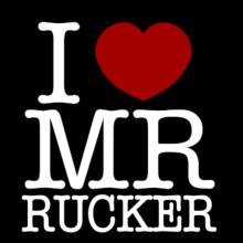 I Love Mr Rucker Langarm T-Shirt