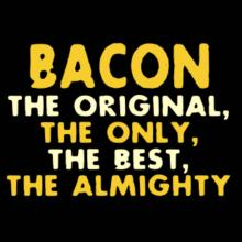 Bacon The Original Langarm T-Shirt