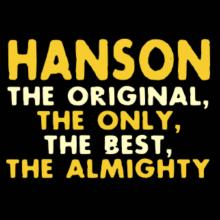 Hanson The Original T-Shirt