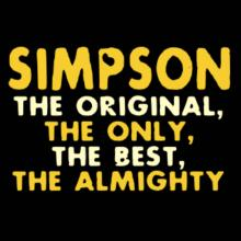 Simpson The Original Langarm T-Shirt