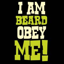 I Am Beard Obey Me! Tank Top
