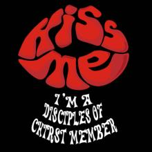 Kiss Me, I'm A Disciples Of Chirst Member T-Shirt
