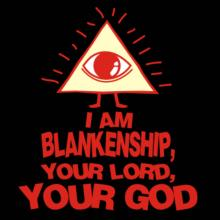 I Am Blankenship, Your Lord, Your God Langarm T-Shirt