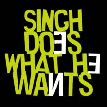 Singh Does What He Wants Langarm T-Shirt