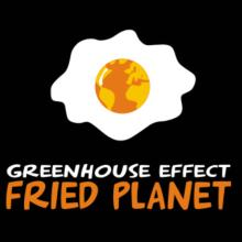 Greenhouse Effect - Fried Planet T-Shirt