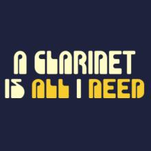 A Clarinet Is All I Need T-Shirt