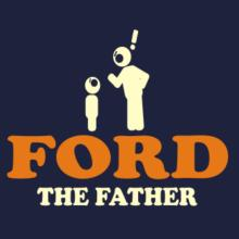 Ford The Father Frauen Raglan T-Shirt