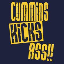 Cummins Kicks Ass!! T-Shirt