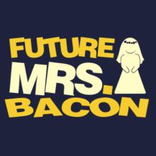 Future Mrs. Bacon Langarm T-Shirt