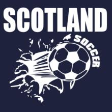 All Soccer Scotland Raglan T-Shirt
