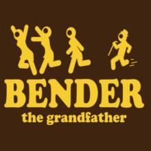Bender The Grandfather Langarm T-Shirt