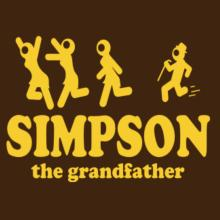 Simpson The Grandfather Langarm T-Shirt