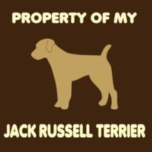 Property Of My Jack Russell Terrier Langarm T-Shirt