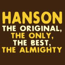 Hanson The Original Frauen Raglan T-Shirt
