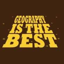 Geography Is The Best Raglan T-Shirt