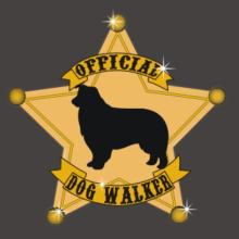 Official Border Collie Walker Langarm T-Shirt