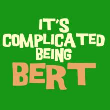 It's Complicated Being Bert V-Ausschnitt T-Shirt