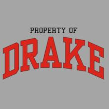 Property Of Drake V-Ausschnitt T-Shirt