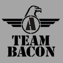 Team Bacon - Falcon Initial T-Shirt