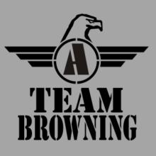 Team Browning - Falcon Initial T-Shirt