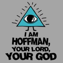 I Am Hoffman, Your Lord, Your God Raglan T-Shirt