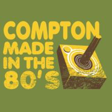 Compton Made In The 80's Frauen T-Shirt