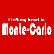 I Left My Heart In Monte Carlo Stofftasche
