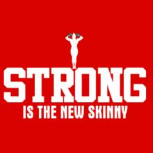 Strong is the new skinny Bodybuilding Tasse