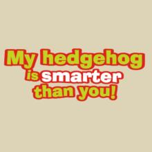 My Hedgehog Is Smarter Than You! Langarm T-Shirt