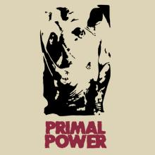 Primal Power - Rhino T-Shirt