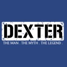 Dexter : The Man - The Myth - The Legend V-Ausschnitt T-Shirt