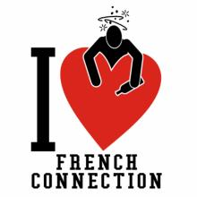 I Love French Connection T-Shirt